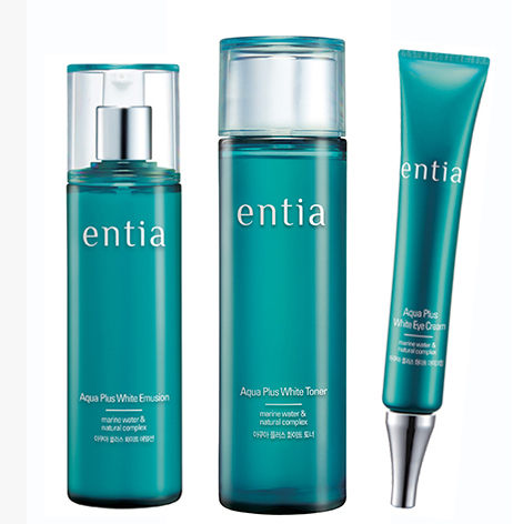 Bộ sản phẩm dưỡng trắng da Entia Aqua White Plus Set-3