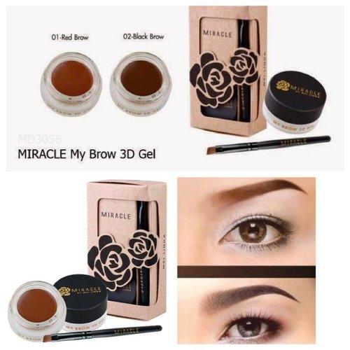 Gel Kẻ Lông Mày 3D Miracle Mei Linda