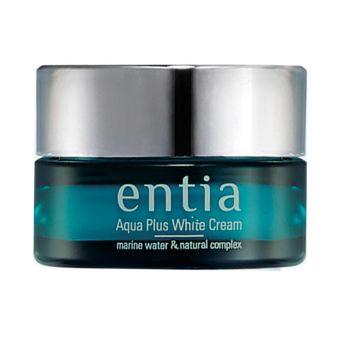 Kem dưỡng Entia Aqua Plus White Eye Cream 60ml Hàn Quốc