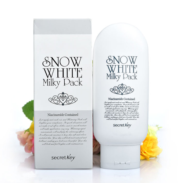 Kem Tắm Trắng Mặt và Toàn Thân Snow White Milky Pack Hàn Quốc
