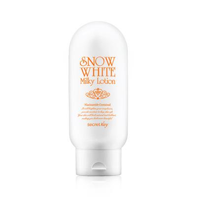 Sữa Dưỡng Trắng Da Secret Key Snow White Milky Lotion 120g Hàn Quốc