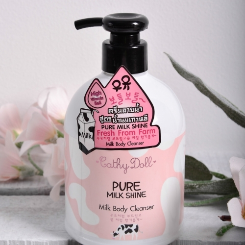 Sữa Tắm Pure Milk Shine Cathy Doll 480ml Thái Lan