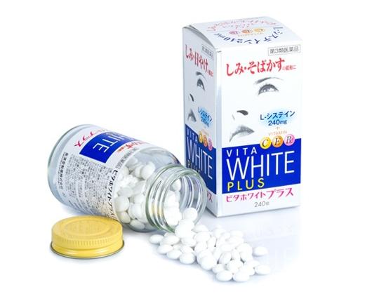 Viên thuốc uống trị nám dưỡng trắng da Vita White Plus