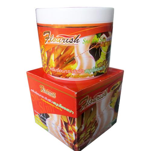 Kem Tan Mỡ Bụng Gừng Ớt Flourish 500ml Thái Lan