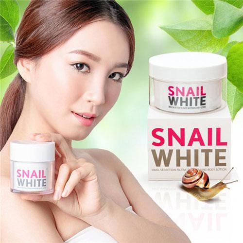 Kem Dưỡng Trắng Body Snail White 250gr Thái Lan