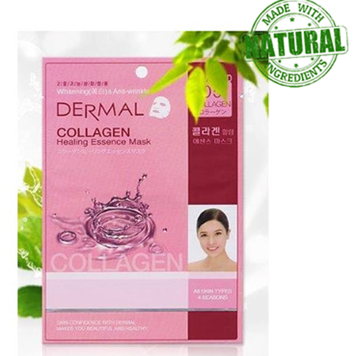 Mặt nạ Collagen Dermal Collagen Healing Essence Mask Nhật Bản