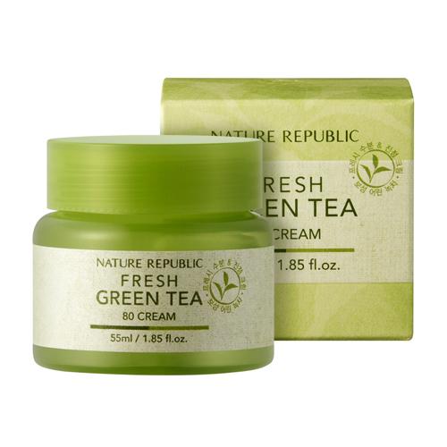 Kem Dưỡng Chiết Xuất Trà Xanh Fresh Green Tea Cream 55ml