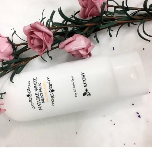 Kem Dưỡng Trắng Da Body Nature White Collagen Ecosy Hàn Quốc 150gr