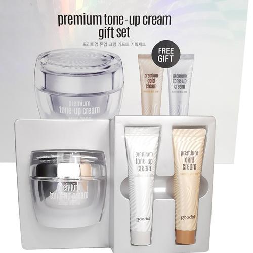 Bộ Sản Phẩm Chăm Sóc Da Goodal Premium Tone Up Cream Giftset