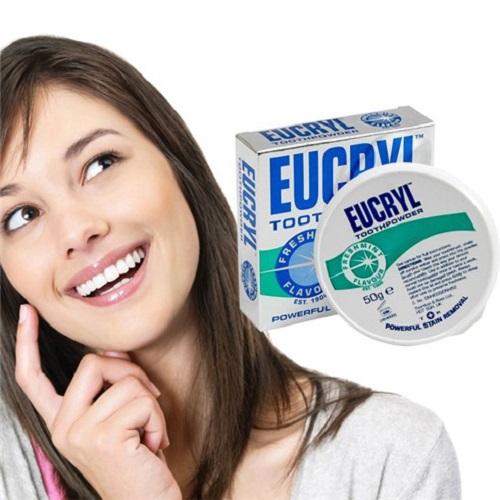 Bột Làm Trắng Răng Eucryl Nhập Khẩu Anh