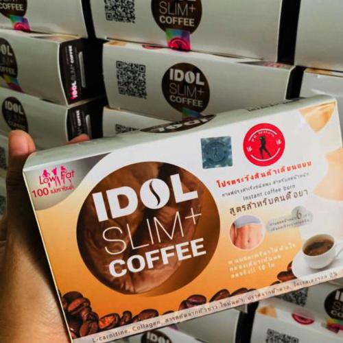 Cà Phê Giảm Cân Idol Slim Coffee Mẫu Mới 2019 Giảm Mạnh