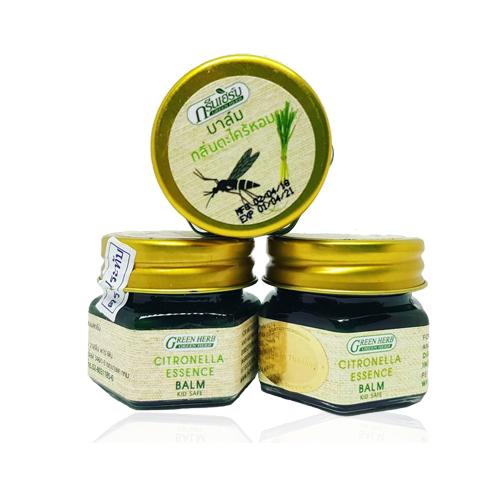 Cao Bôi Trị Muỗi Đốt Citronella Essence Balm 20g Thái Lan