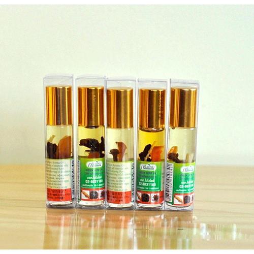 Dầu gió thảo dược Green Herb oil 8ml Thailand