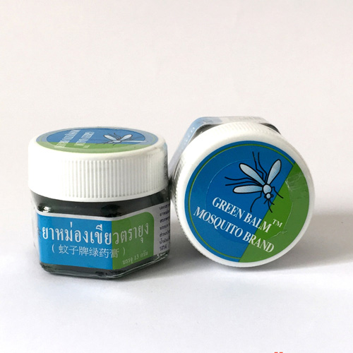 Dầu Thoa Trị Muỗi Đốt Green Balm Mosquito Brand Thái Lan