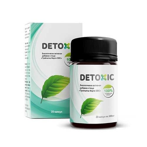 Detoxic Diệt Ký Sinh Trùng Hộp 20 Viên