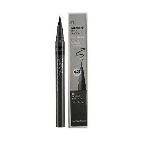 Kẻ Mắt Nước Ink Graffi Brush Pen Liner The Face Shop