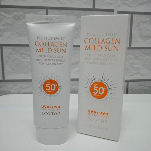 Kem Chống Nắng Collagen Ecotop Perfect Daily Collagen Mild Sun SPF 50+