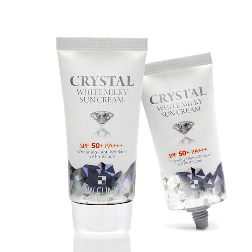 Kem chống nắng Crytal White Milky Sun Cream 3w Clinic 50ml