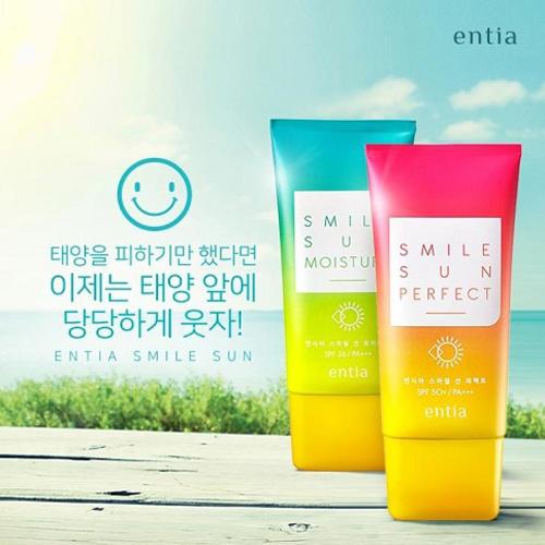 KEM CHỐNG NẮNG DƯỠNG DA CAO CẤP ENTIA SPF50+PA+++ / SPF 36+PA+++ Hàn Quốc