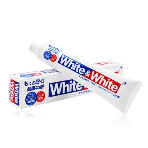 Kem Đánh Răng Siêu Trắng White And White Nhật Bản 150g