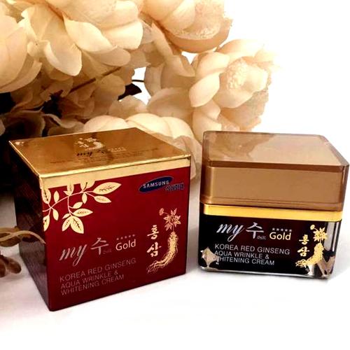 Kem Dưỡng Da Hồng Sâm My Gold 50ml Hàn Quốc