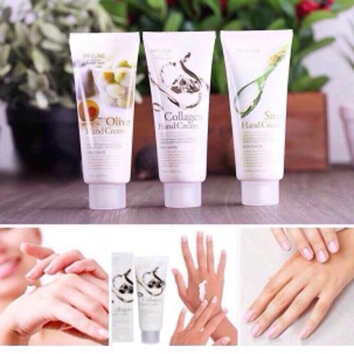 Kem Dưỡng Da Tay 3W Clinic Hand Cream(100ml)