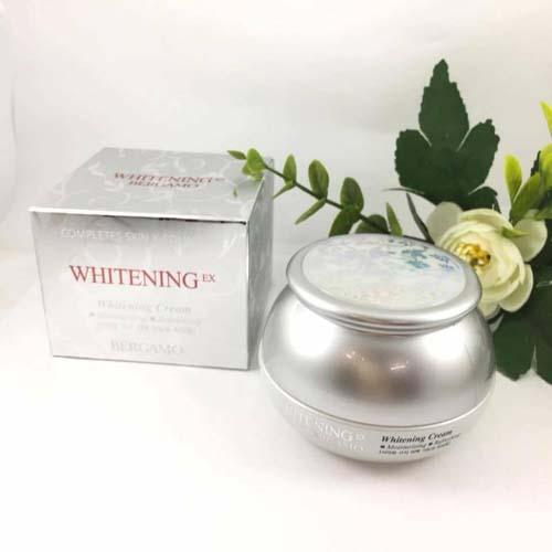 Kem Dưỡng Trắng Da Bergamo Whitening EX Cream Hàn Quốc