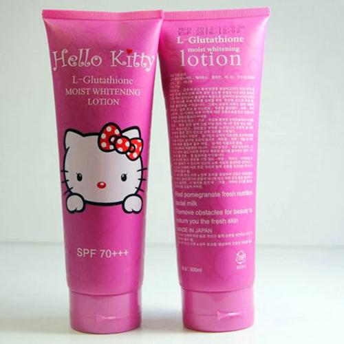 Kem dưỡng trắng da Hello Kitty Nhật Bản