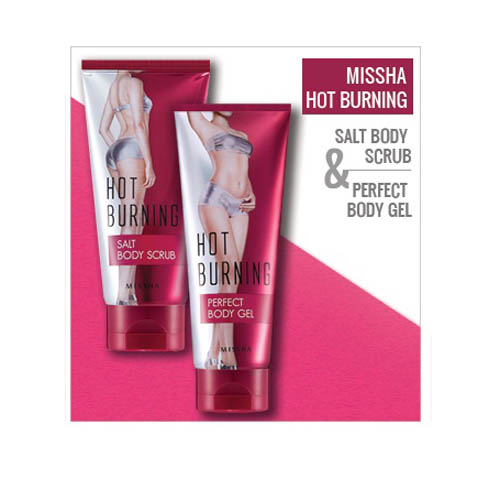 Kem massage giảm mỡ MISSHA Hot Burning Perfect Body Gel 200ml