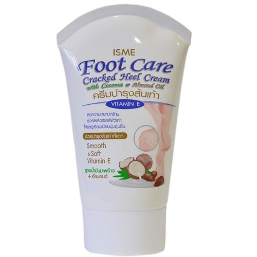Kem Trị Nứt Gót Chân Isme Foot Care Cracked Heel Cream Thái Lan 80g