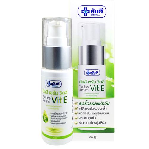 Serum Ngăn Ngừa Nếp Nhăn Chống Lão Hóa Da Vitamin E Bệnh Viện Yanhee Thái Lan