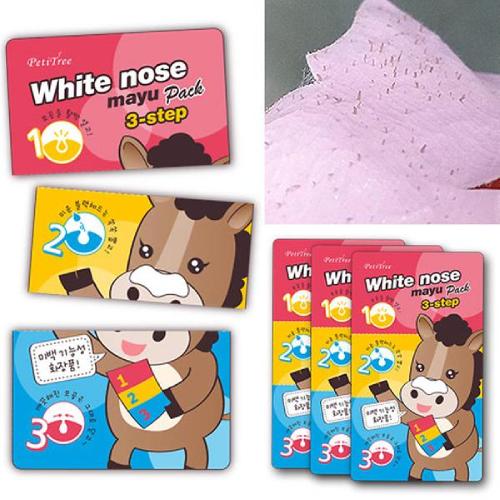 Lột Mụn Đầu Đen Petitree White Nose Mayu Pack Hàn Quốc