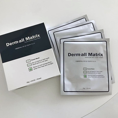 Mặt Nạ Derm All Matrix Facial Dermal - Care Mask Hàn Quốc