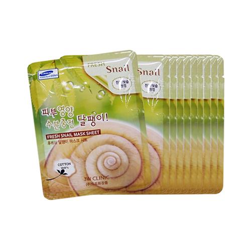 Mặt nạ dưỡng chất Colagen ốc Sên 3W Clinic Hàn Quốc