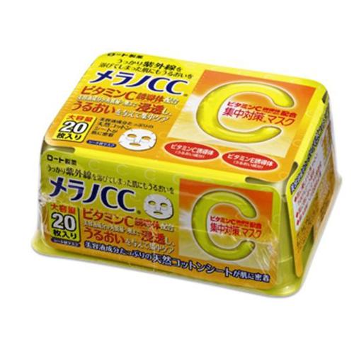 Mặt Nạ Melano CC Trắng Da Trị Thâm Nhật Bản 20 Miếng