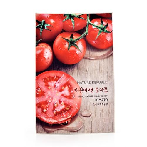 Mặt nạ Nature Republic Real Nature Mask Sheet Cà Chua 23ml Hàn Quốc