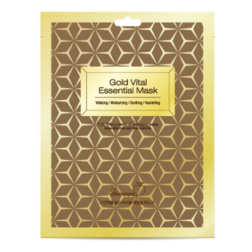 Mặt Nạ Skinapple Gold Vital Essential Mask(10 miếng)Hàn Quốc