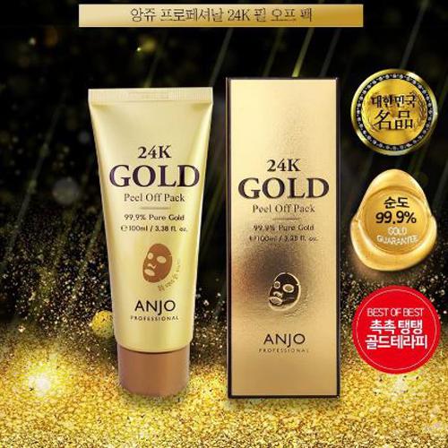 Mặt Nạ Vàng 24K Anjo Hàn Quốc