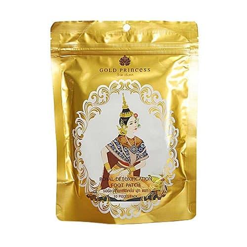 Miếng Dán Thải Độc Chân Gold Princess Thái Lan