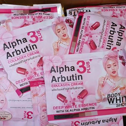 Set Tắm Ủ Trắng Body White Shower Alpha Arbutin Thái Lan