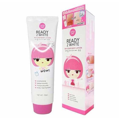 Sữa Dưỡng Trắng Body Ready 2 White Cathy Doll 150ml Thái Lan
