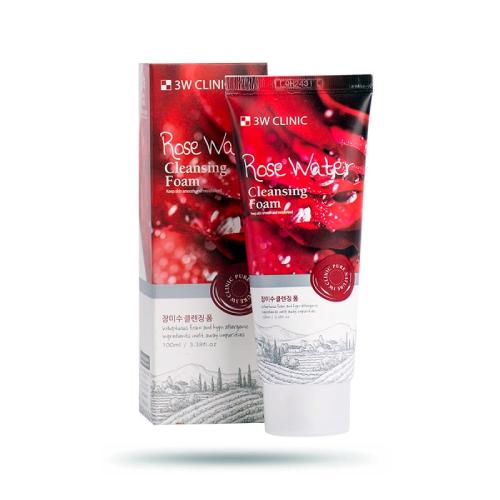 Sữa Rửa Mặt 3w Mùi Hoa Hồng Hàn Quốc