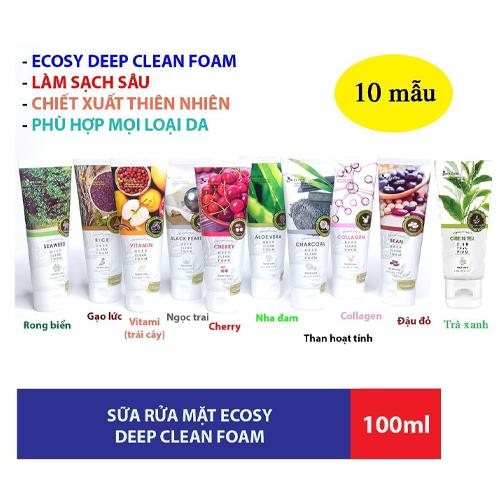 Sửa Rửa Mặt Nhập Khẩu Hàn Quốc Ecosy 100ml