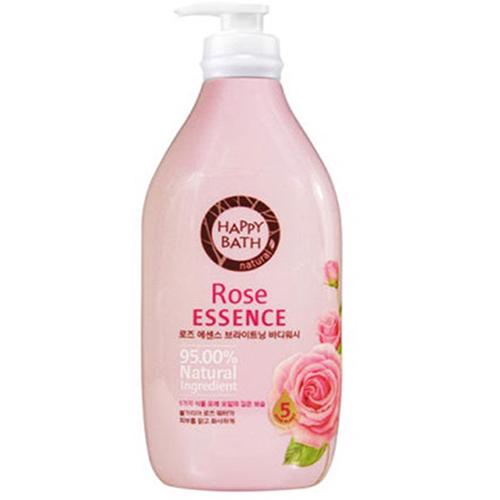 Sữa Tắm Cao Cấp Happy Bath 900ml Hàn Quốc Hương Hoa Hồng