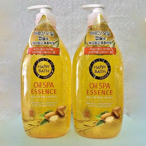 Sữa Tắm Happy Bath Body Wash 900ml Dầu Hạnh Nhân