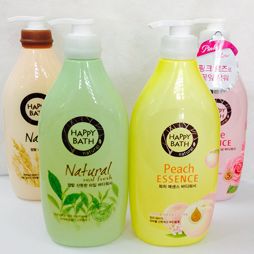 Sữa Tắm Happy Bath Peach Assence Body Wash 900ml Hương Trái Đào