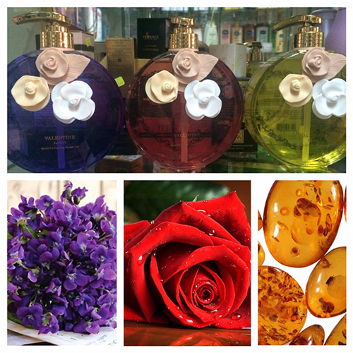 Sữa tắm nước hoa Valentine By Love Shower Gel