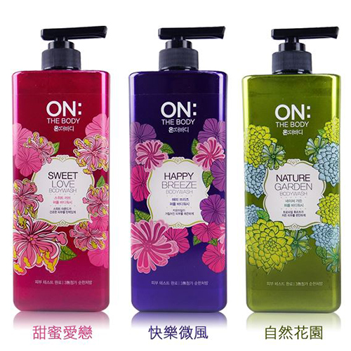 Sữa Tắm ON THE BODY Perfume Shower Body Wash Hàn Quốc