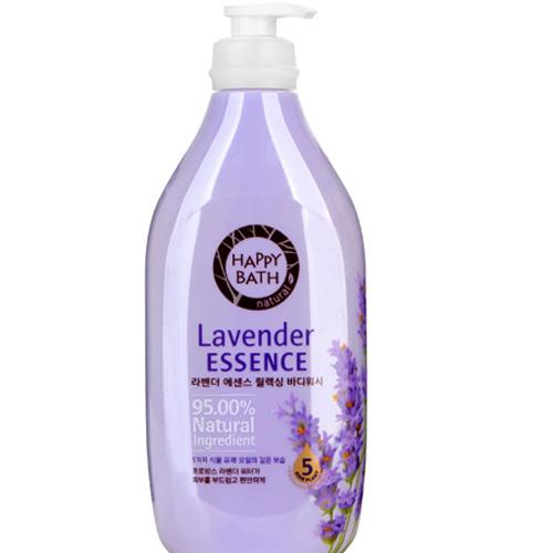 Sữa Tắm Trắng Da Happy Bath Lavender Essence Chai 500ml+ Túi 250ml