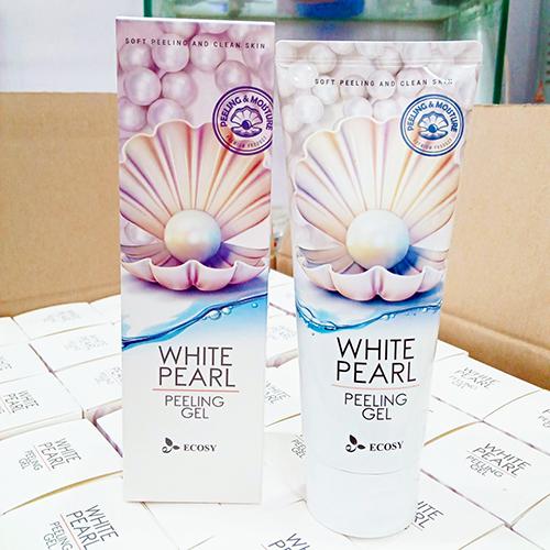 Tẩy Kỳ Tế Bào Chết Trắng Da Ngọc Trai Ecosy White Pearl Peeling Gel